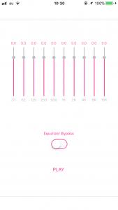10 Bands Parametric Equalizer  Swift 4  | UBUNIFU INCORPORATED